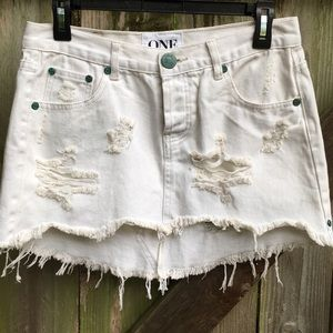 NWOT One Teaspoon skirt